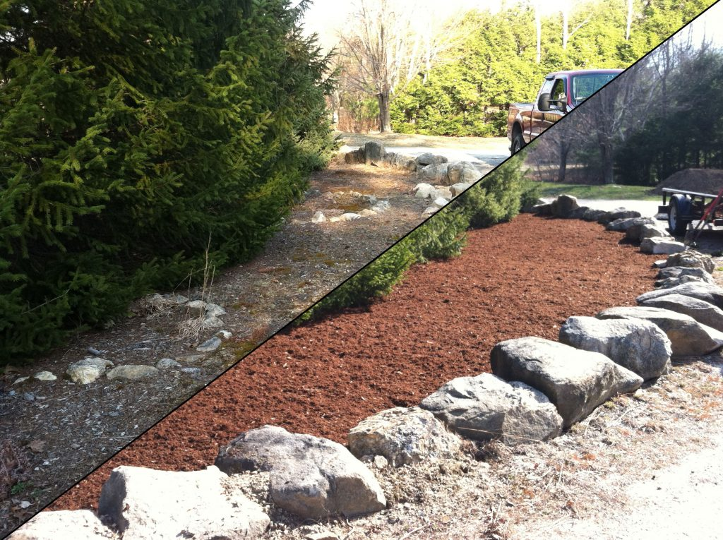 Landscaping ideas hire a professional landscaper for Installing river rock landscaping