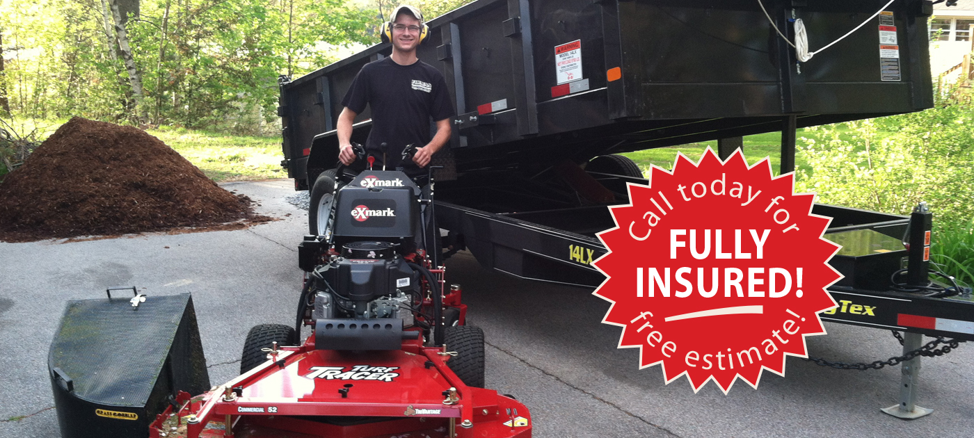 Call Firman Lawn Care for a Free Estimate! We're Fully Insured!